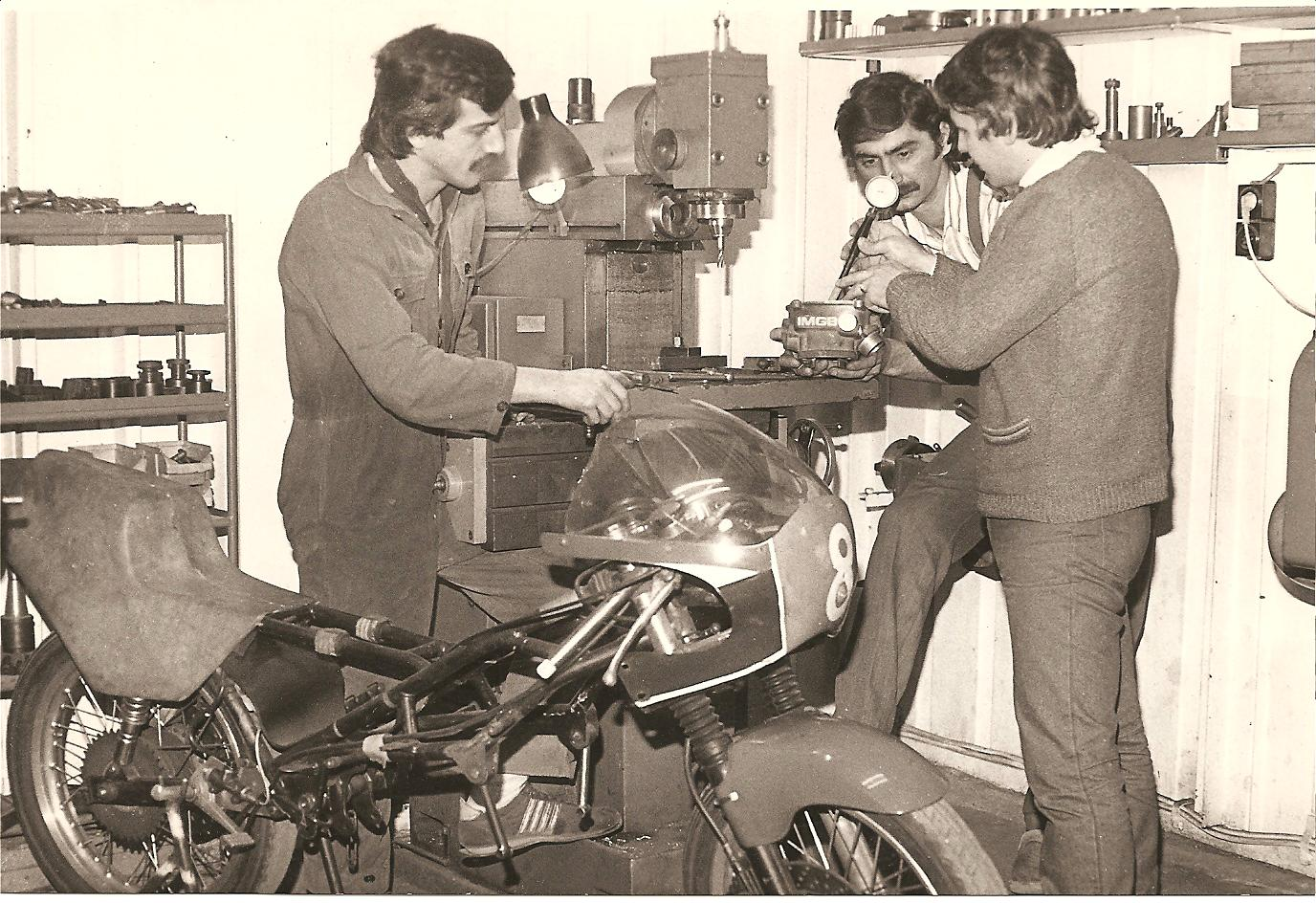 1988 - Workshop IMGB Team - Bucharest