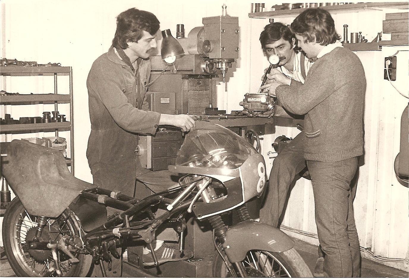 1988 - Workshop IMGB Team - Bucharest