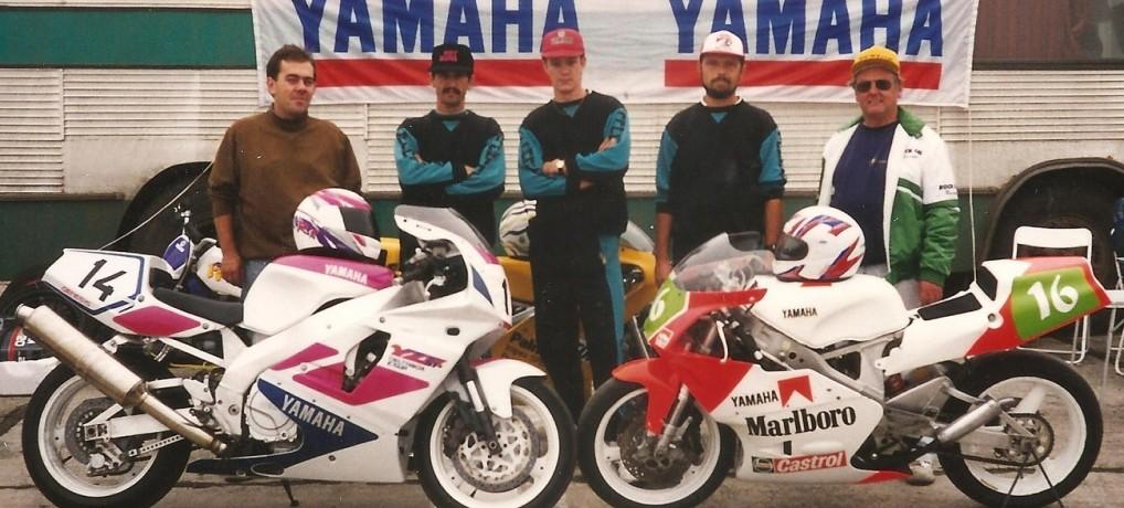 Începuturile clasei Superbike în Romania – etapa finală a primului Campionat Naţional, filmare la Caransebeş – 15 octombrie 1995