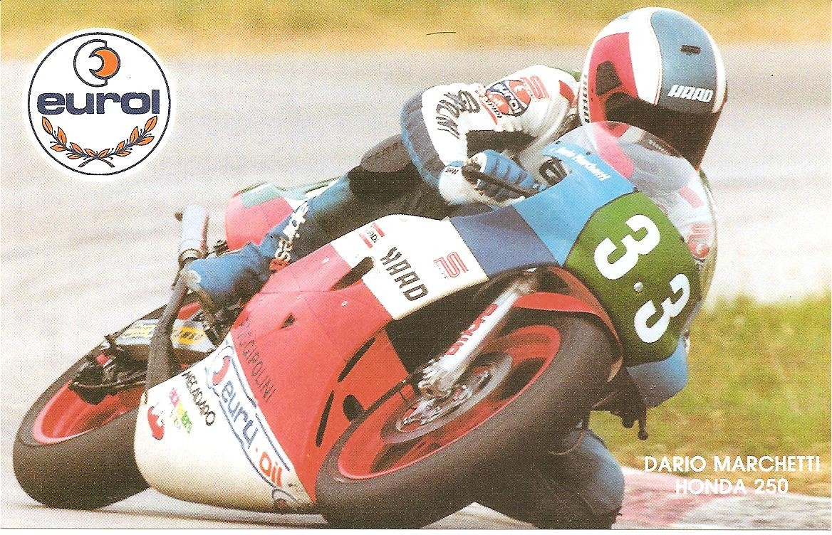 Dario Marchetti la clasa 250cc