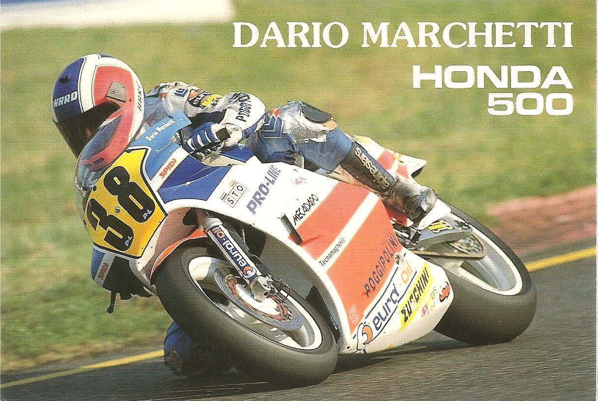 Dario Marchetti la clasa 500cc