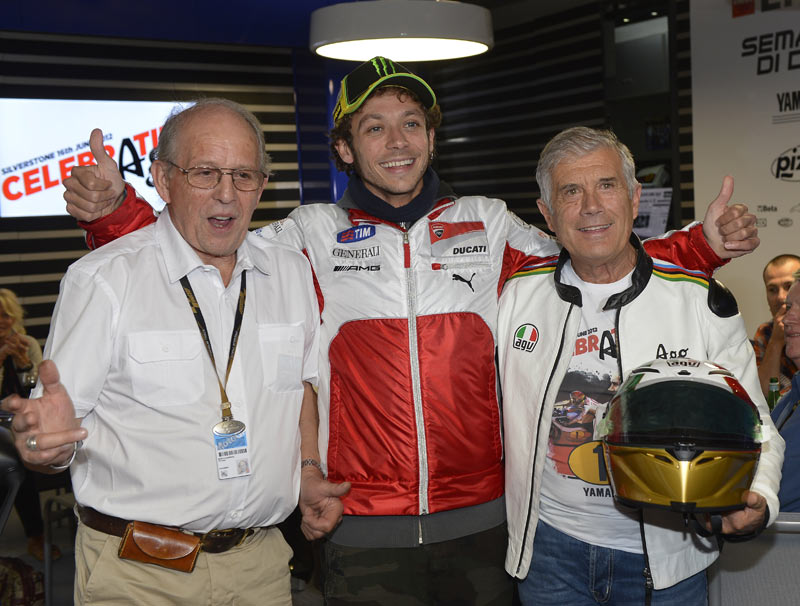 Phil Read, Valentino Rossi si Giacomo Agostini