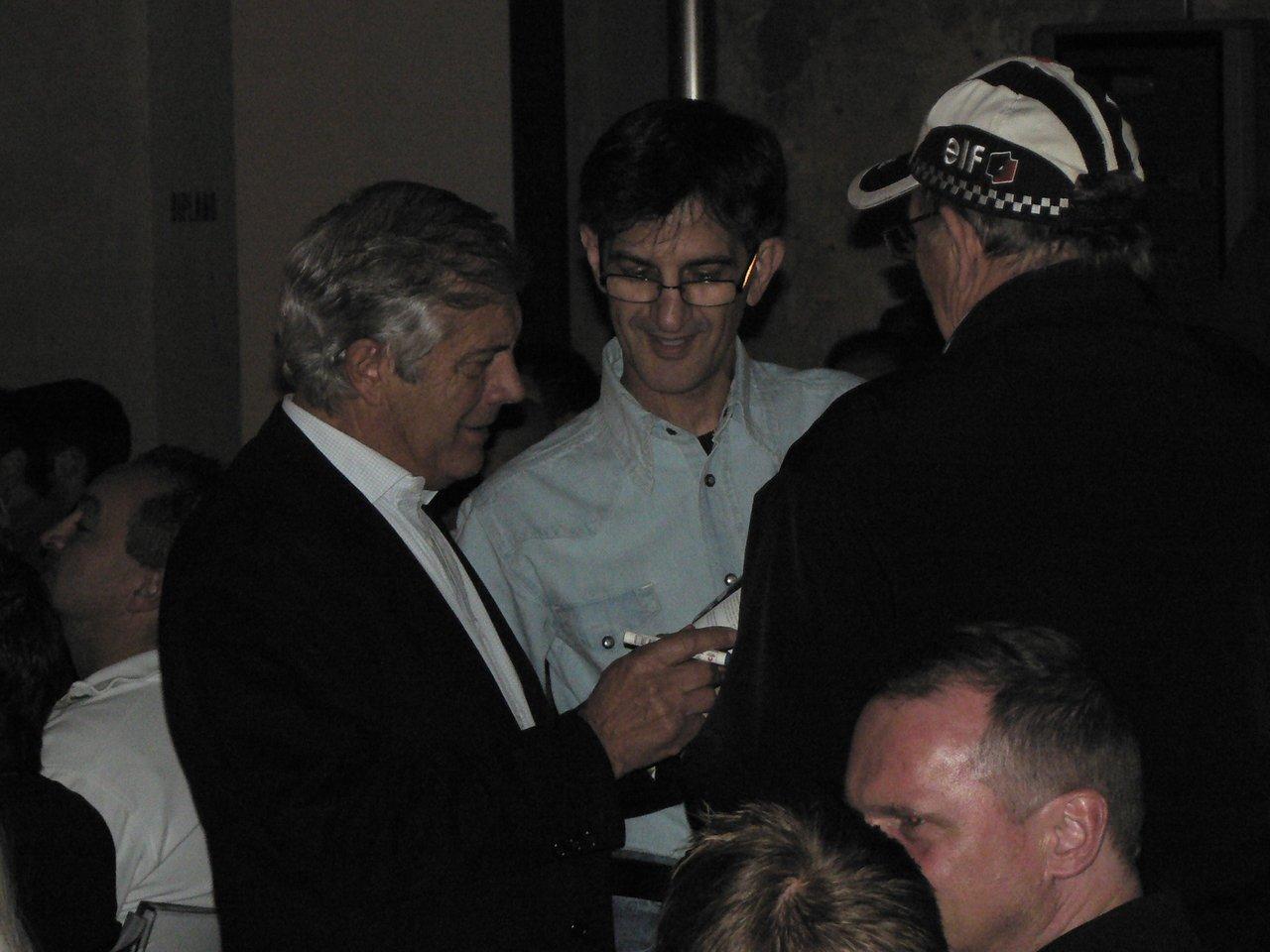 Cu Giacomo Agostini si Phil Read la lansarea noului MV Agsuta F4