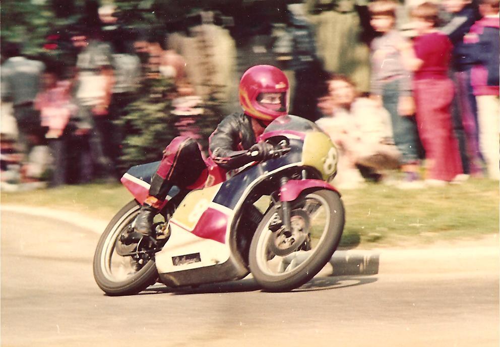 Subsemnatul la clasa 250cc, circuitul stradal din Oradea - 1988