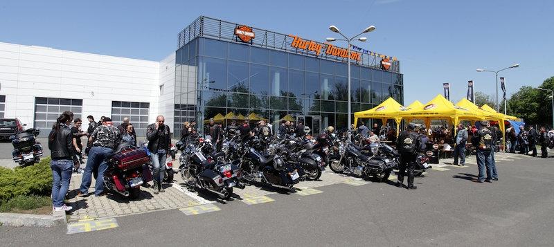 Porţi deschise, eveniment Harley-Davidson