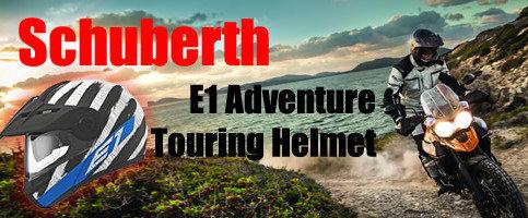 Prezentare cască Schuberth E1 – model adventure modular