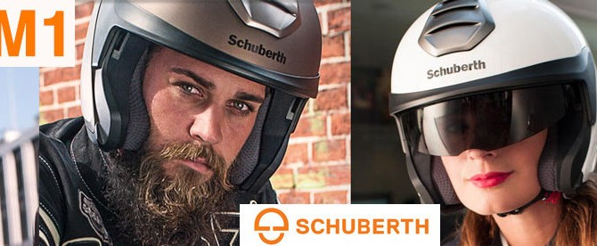 Prezentare cască deschisă (Open Face) Schuberth M1