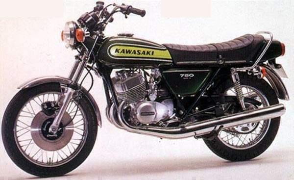 Kawasaki H2 750 74