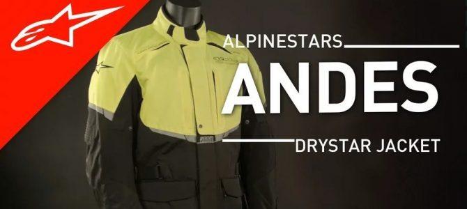 Prezentare geacă touring Alpinestar Andes