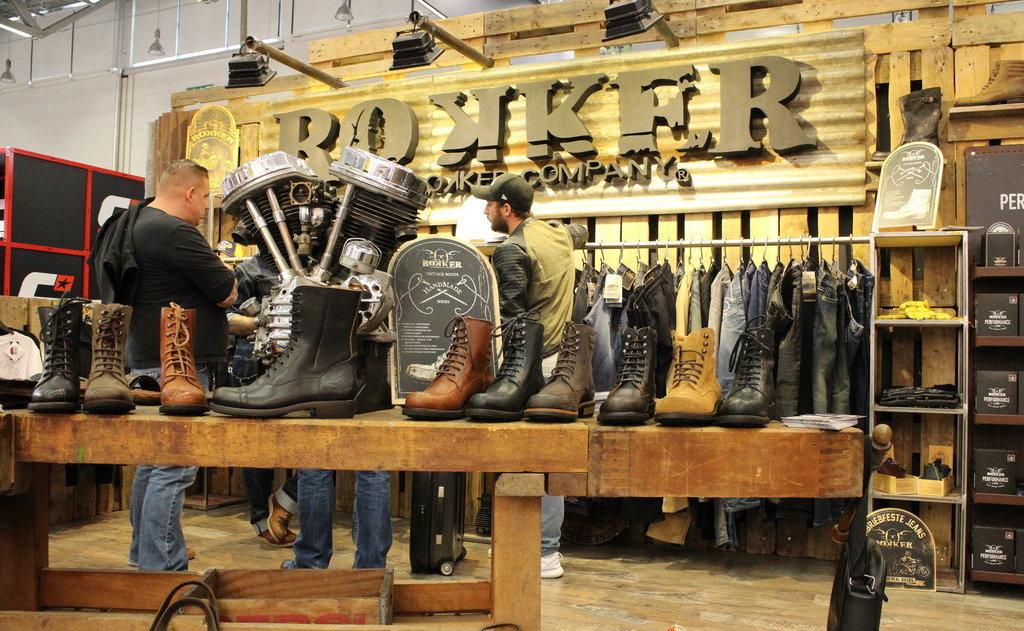 Standul firmei Rokker