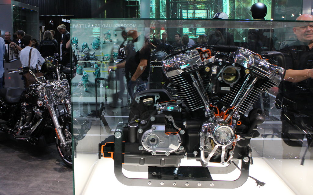 Standul Harley-Davidson