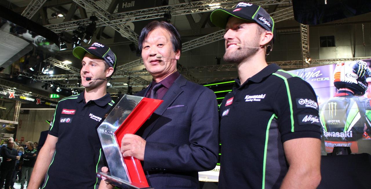 piloții echipei Kawasaki