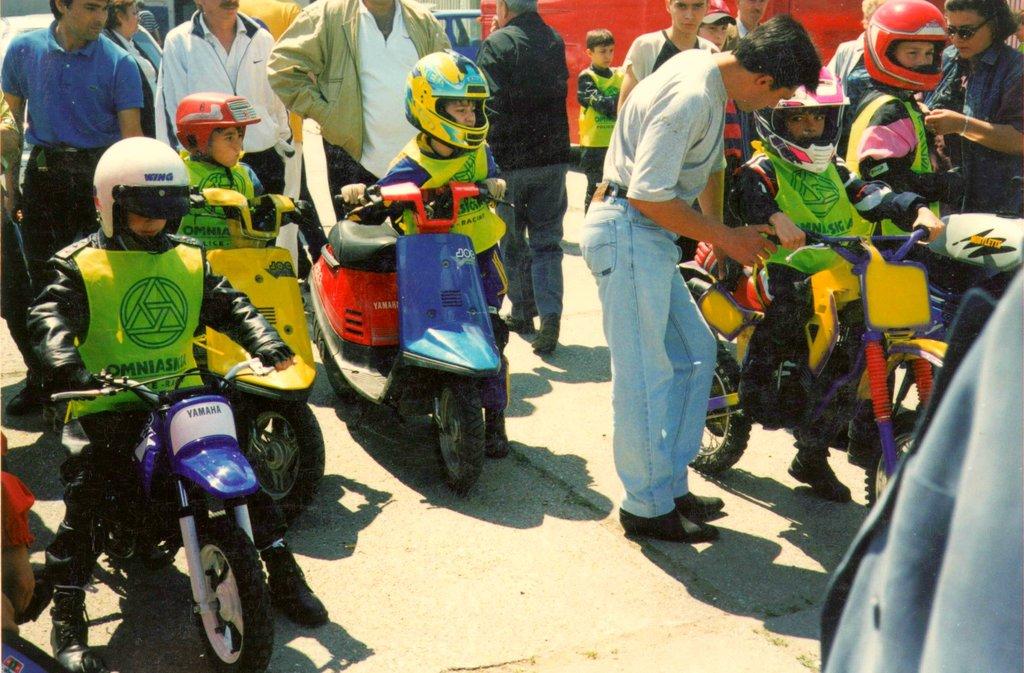 Echipa de copii Yamaha