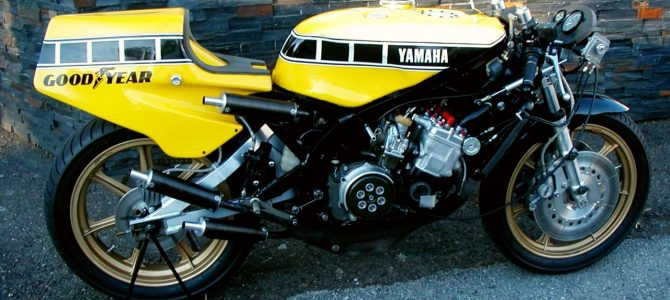 Yamaha OW48, motocicleta campioană mondială în 1980, restaurată de Kenny Roberts în Europa