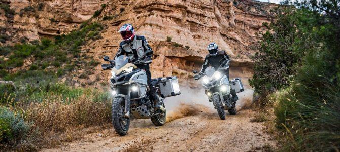 Ducati a prezentat azi noul model Multistrada Enduro Pro