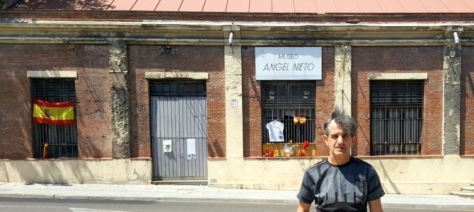 Am fost la Muzeul Angel Nieto din Madrid