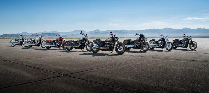 Harley-Davidson a lansat gama Softail 2018