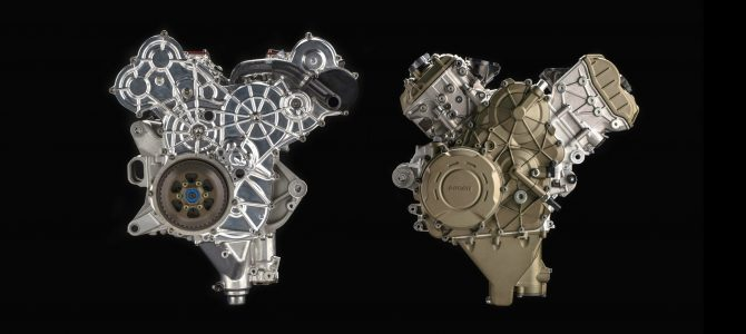 Desmosedici Stradale, noul motor V4 prezentat de Ducati