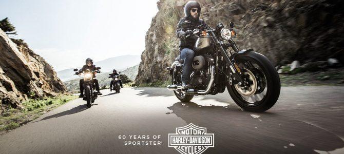 Gama Sportster produsă de Harley-Davidson a împlinit 60 de ani