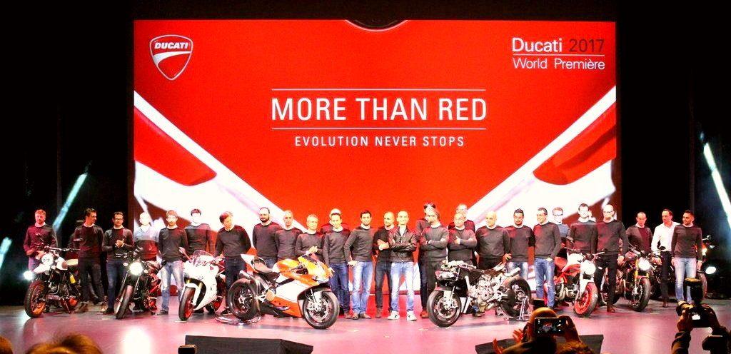 Spectacolul Ducati