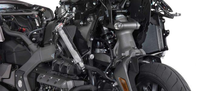 Double Wishbone, suspensia față instalată pe noul Honda Gold Wing – pro și contra
