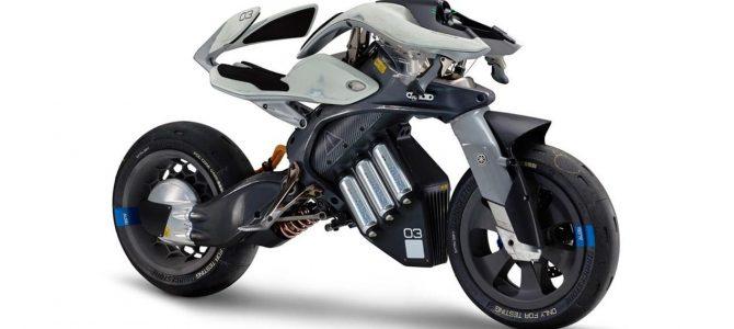 MOTOROiD, motocicleta inteligentă prezentată de Yamaha la Tokyo Motor Show
