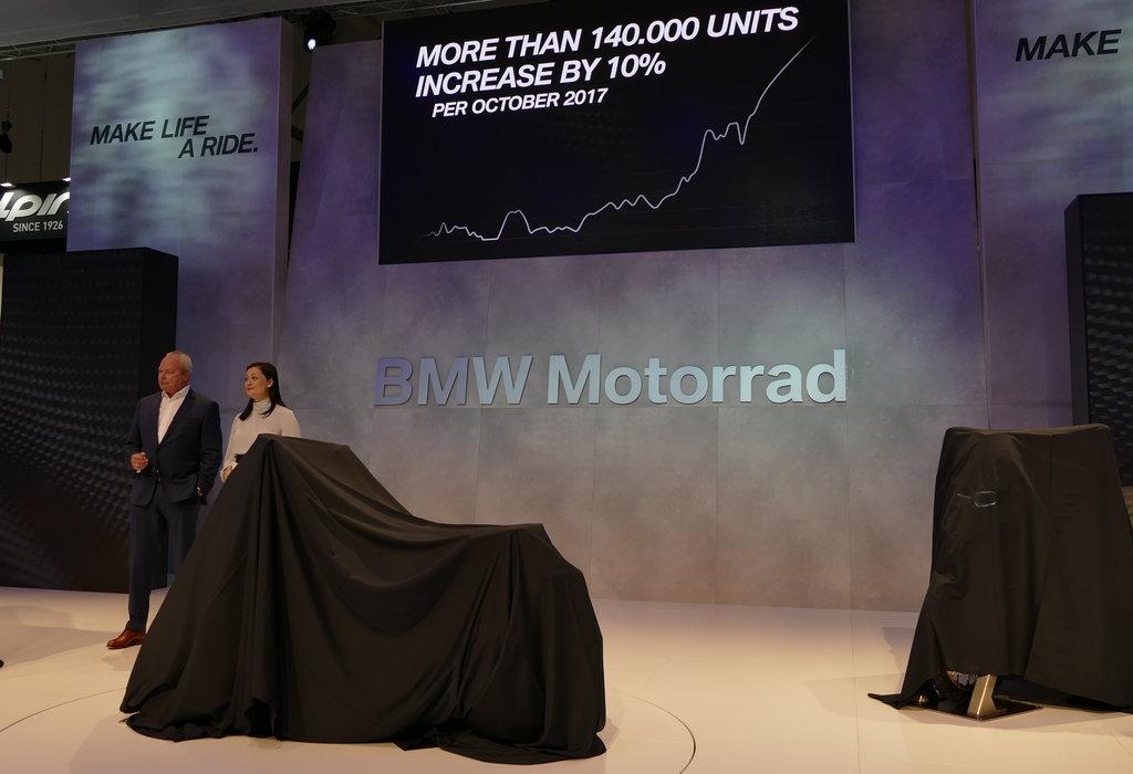 BMW la EICMA 2017