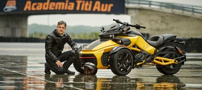Can-Am Spyder F3-S Daytona 500 – Roadster sau triciclu ? – test și prezentare