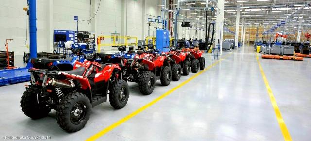 Polaris pregătește pentru jurnaliști o vizită la fabrica din Polonia