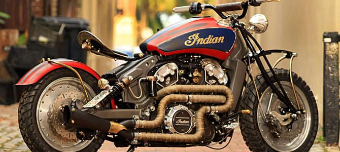 Cele mai interesante motociclete Indian Scout modificate de dealeri