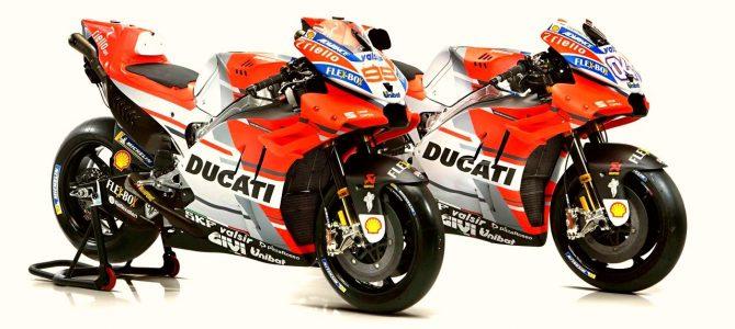 Ducati a prezentat echipa oficială și motocicletele participante în MotoGP 2018