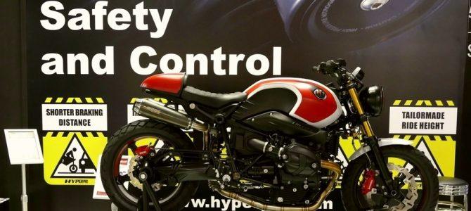 HYPERPRO a prezentat o furcă de față performantă pentru motocicletele de stradă
