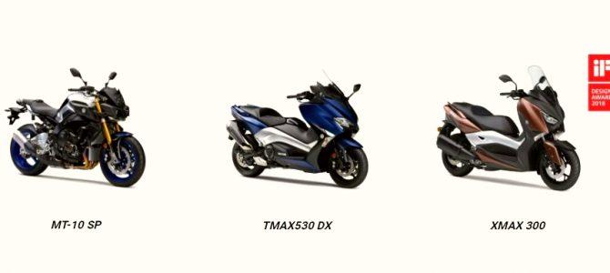 Yamaha a primit premiul pentru design IF Design Award 2018