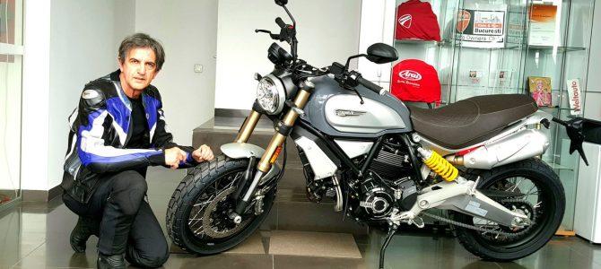 Noul Scrambler 1100 Special a ajuns la magazinul importatorului Ducati România