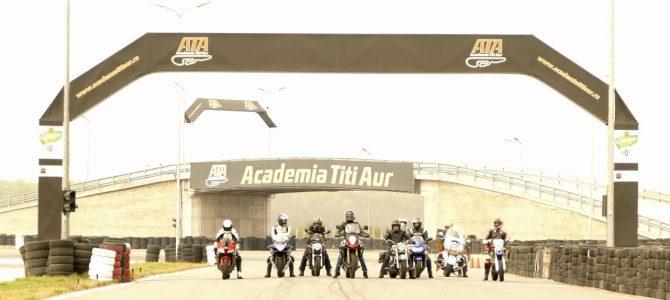 Cursurile de perfecționare moto organizate la Academia Titi Aur au reînceput