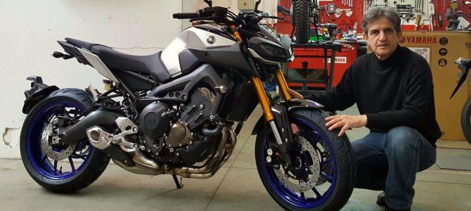 Yamaha MT09 SP - pregătirea de livrare