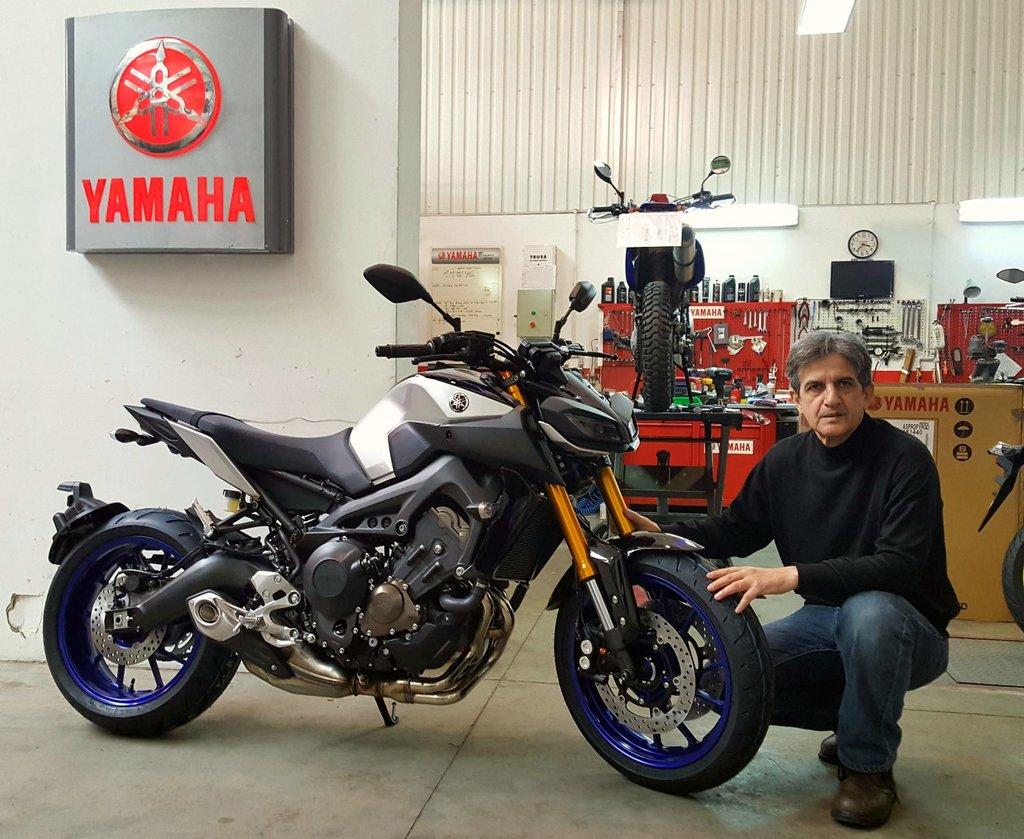 Yamaha MT09 SP
