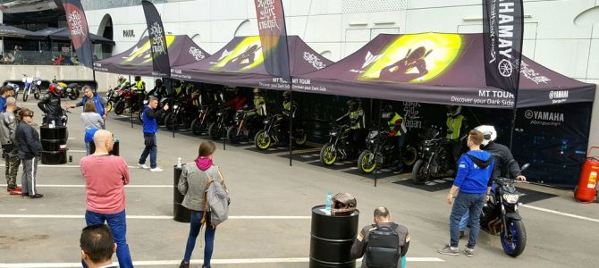 Yamaha România completează flota de motociclete pentru test