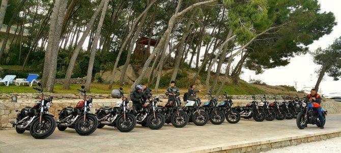Ride Ride Slide – Croația ziua a 2-a – lansare Iron 1200 și Forty-Eight Special