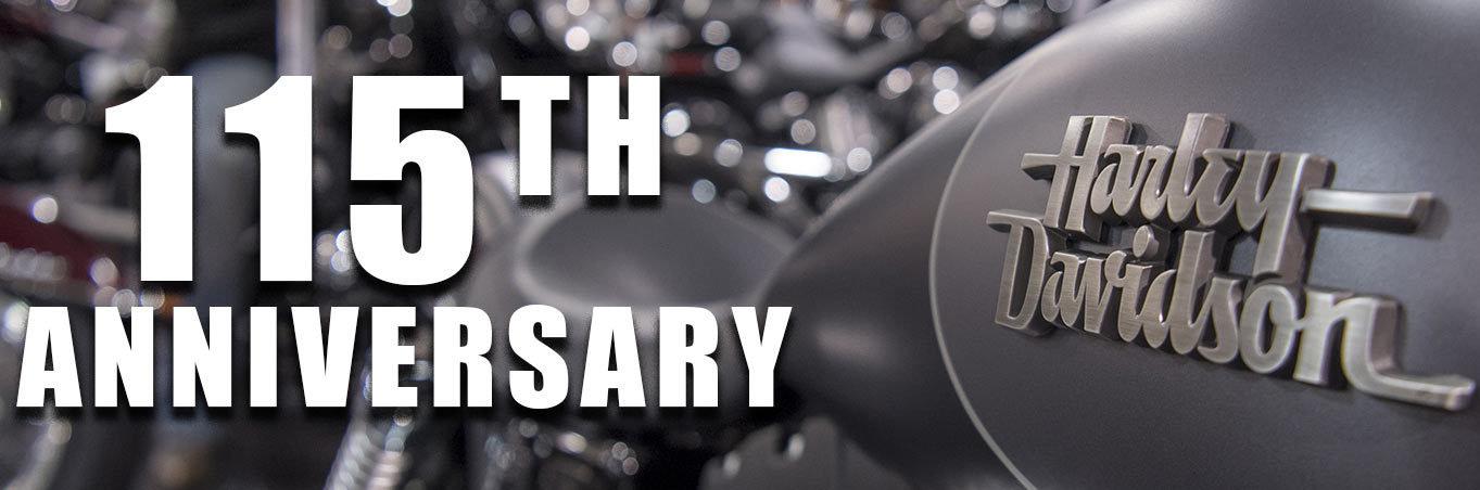 Harley-Davidson 115 ani