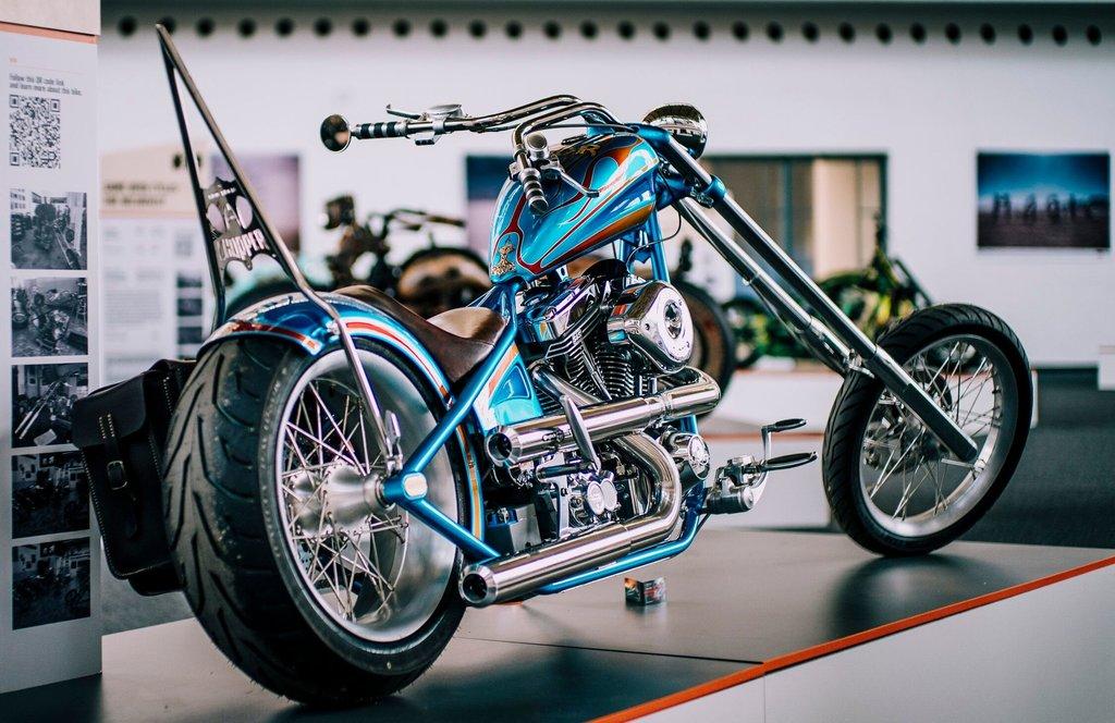 Harley-Davidson custom Praga