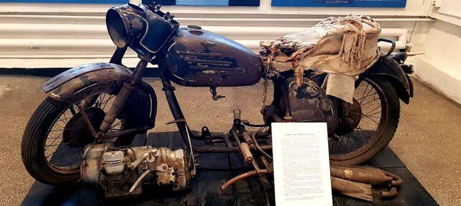 Motocicleta romanească construită în penitenciarul din Aiud