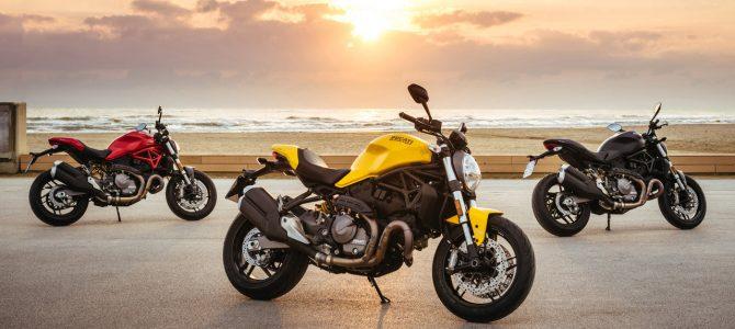 Prezentare Ducati Monster 821 model 2018