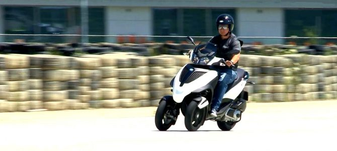 Cupa La Volan ediția a 3-a cu scuterul Piaggio MP3 – episodul 2