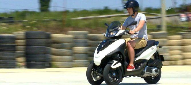 Cupa La Volan cu scuterul Piaggio MP3 – episodul 5