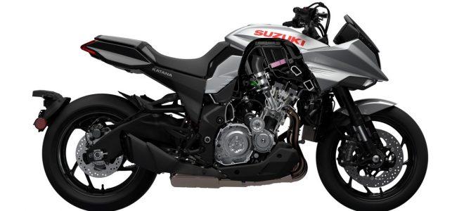 Cum a fost prezentat modelul Suzuki Katana și fișa tehnică a motocicletei