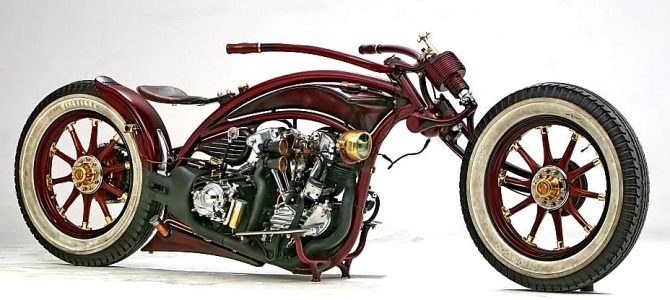 The Time Machine, proiect expus și premiat la Praga – 115 ani Harley-Davidson