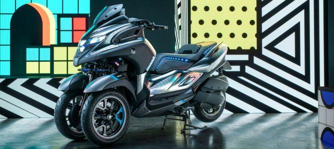 Yamaha 3CT, propunerea firmei celor trei diapazoane pentru mobilitate urbană