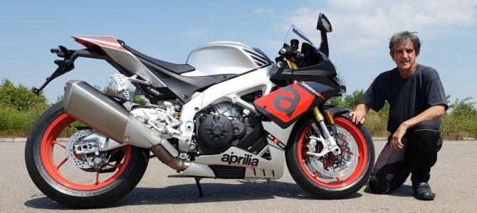 Aprilia RSV4 RR, motocicleta de curse înmatriculabilă – test și prezentare
