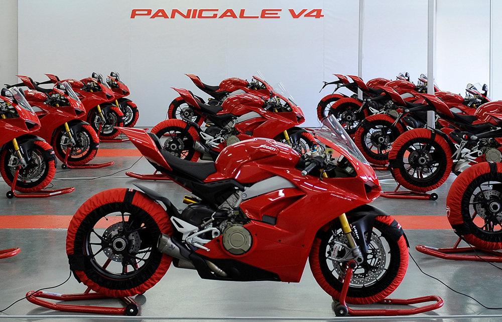 Vânzările Ducati în 2018